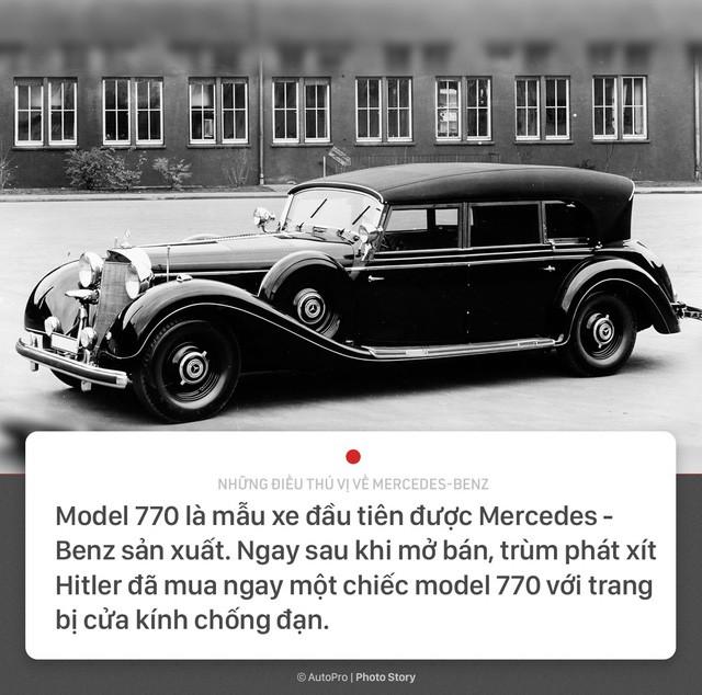 [Photo Story] 10 điều thú vị về Mercedes-Benz: trùm phát xít Hitler là 1 trong những khách hàng Thứ nhất - Ảnh 2.
