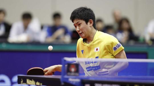 Cao thủ bóng bàn Trung Quốc thua sốc tay vợt 14 tuổi Harimoto - Ảnh 3.