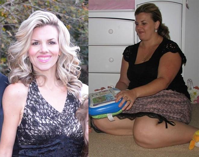 Đây là lý do khiến bà mẹ này thay đổi thói quen ăn uống của mình và giảm tới hơn 50kg - Ảnh 3.