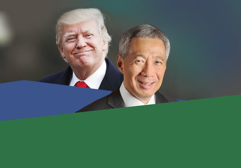 Lãnh đạo Mỹ - Singapore chính thức họp song phương