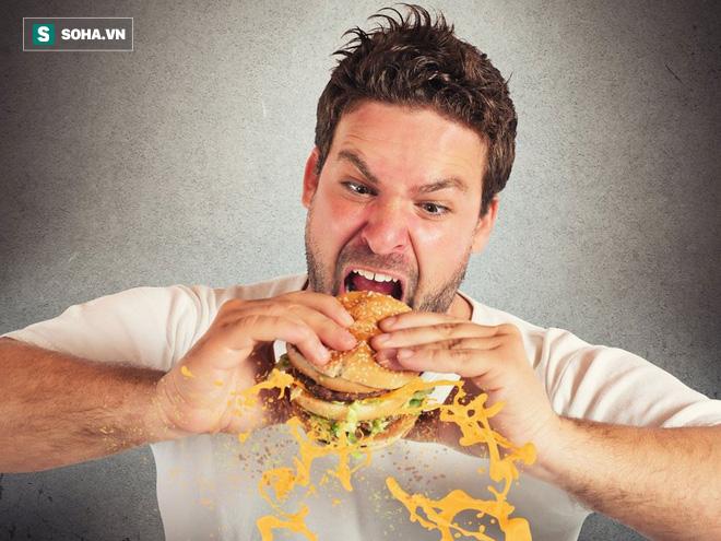 6 mối nguy hại khi ăn quá nhanh khiến tuổi thọ ngắn lại: Ăn thế nào mới đúng? - Ảnh 1.
