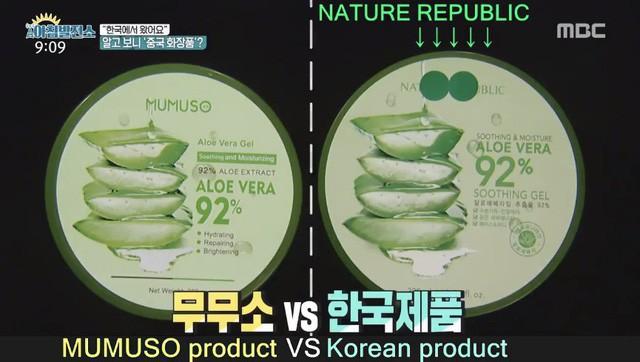 Đài truyền hình Hàn Quốc: Hầu hết một vài dòng chữ tiếng Hàn trên sản phẩm của Mumuso là vô nghĩa, đưa ra cảnh báo NTD Việt Nam mua phải đồ nhái mà không biết - Ảnh 1.