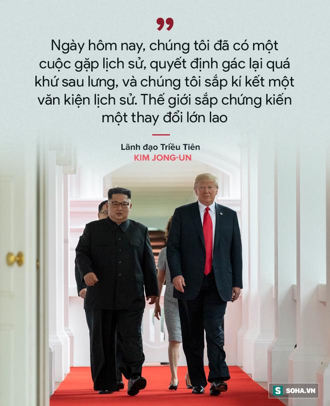 Cơn mưa lời ca ngợi nguyên thủ Mỹ - Triều dành cho nhau - Ảnh 6.