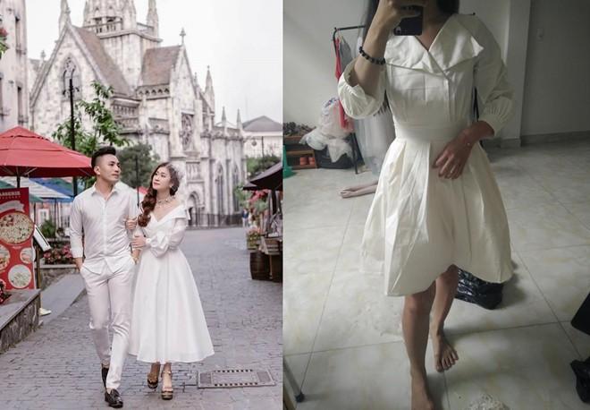 Bỏ ra 650 nghìn mua váy công chúa qua mạng, cô nàng cay đắng nhận về chiếc giẻ lau không hơn không kém - Ảnh 1.