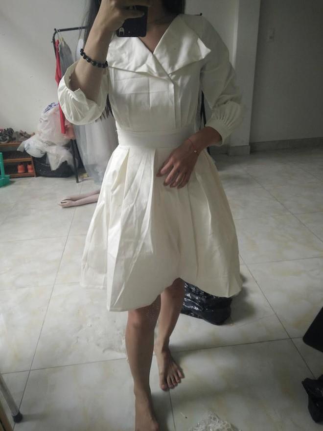 Bỏ ra 650 nghìn mua váy công chúa qua mạng, cô nàng cay đắng nhận về chiếc giẻ lau không hơn không kém - Ảnh 3.
