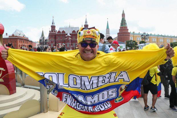 Tất cả đã sẵn sàng đón giờ G World Cup, CĐV tràn ngập Moscow cổ vũ đội tuyển - Ảnh 10.