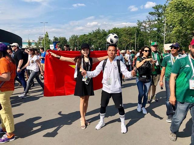 Á khôi Ngọc Nữ chơi lớn khi sang hẳn Nga để xem World Cup 2018 - Ảnh 2.