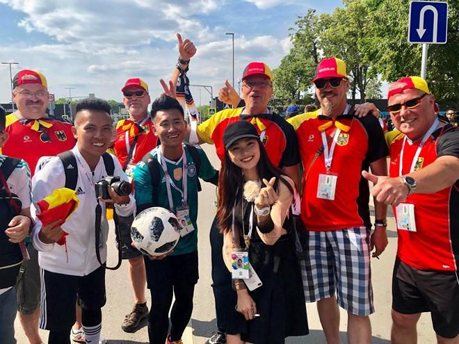 Á khôi Ngọc Nữ chơi lớn khi sang hẳn Nga để xem World Cup 2018 - Ảnh 3.