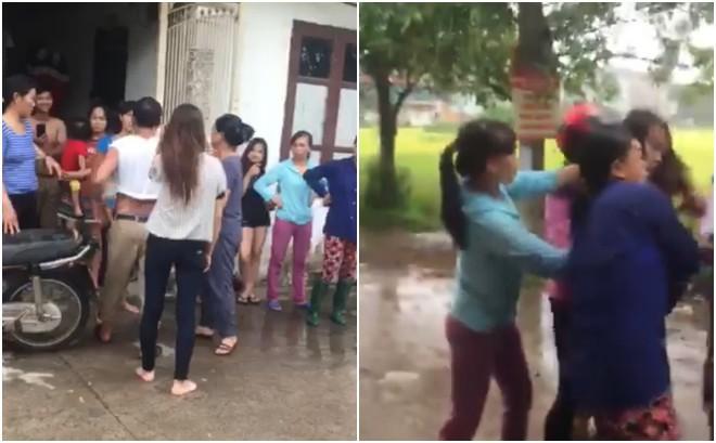 Cô gái bị nhóm phụ nữ giữ tay chân, lột sạch quần áo giữa đường nghi do nhắn tin thách thức vợ nhân tình - Ảnh 4.