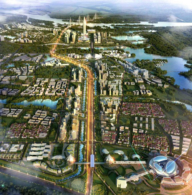 Cận cảnh về siêu đô thị thông minh hơn 4 tỷ USD Nhật Tân – Nội Bài trong tương lai  - Ảnh 6.