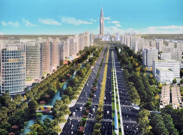 Cận cảnh về siêu đô thị thông minh hơn 4 tỷ USD Nhật Tân – Nội Bài trong tương lai  - Ảnh 9.