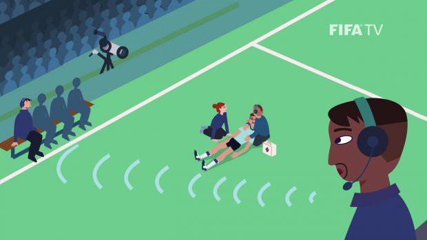 Công nghệ đặc biệt theo dõi từng đường chạy của các cầu thủ tại World Cup 2018 - Ảnh 1.