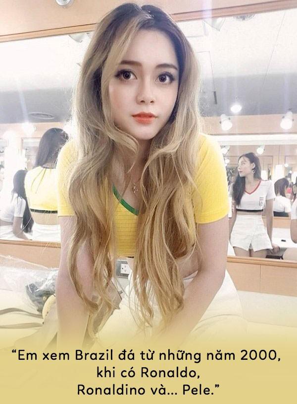 World Cup 2018: Sốc với những bình luận ngô nghê của dàn hotgirl - Ảnh 2.