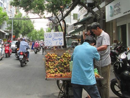 Trung Quốc trúng mùa, trái vải Việt Nam rớt giá sớm - Ảnh 1.
