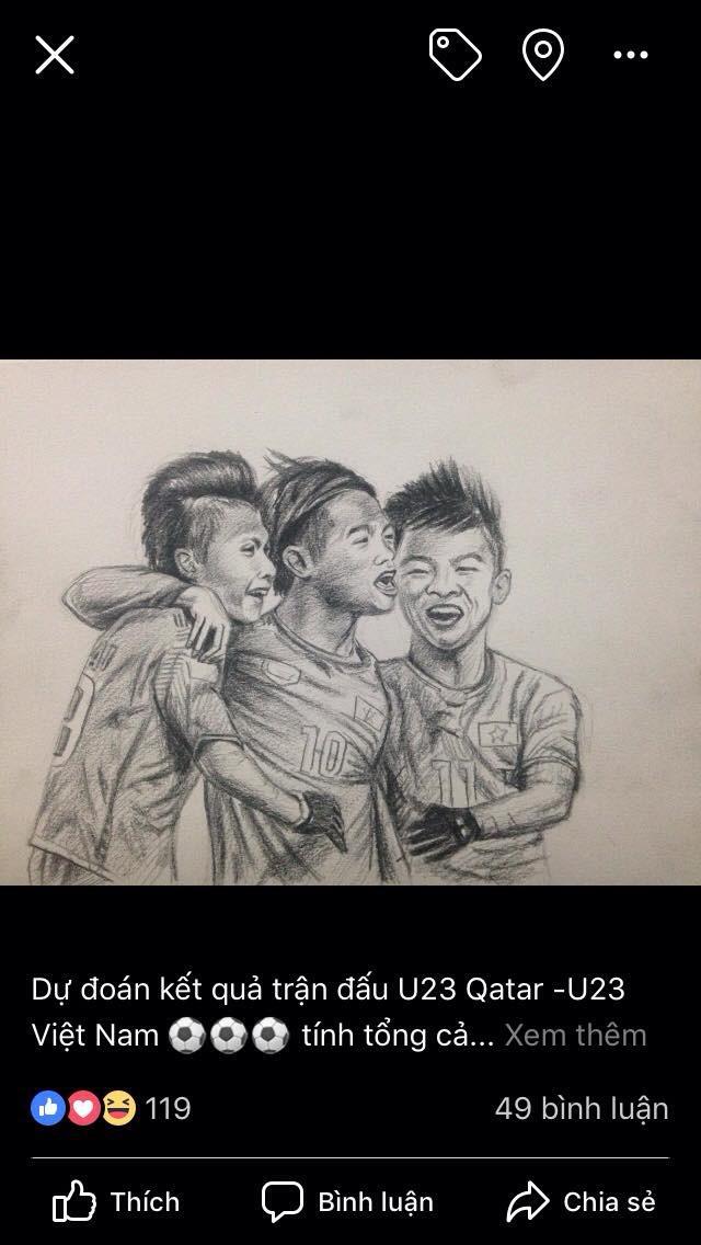 Chàng trai vẽ cầu thủ nào là ĐT nước ấy hòa hoặc thua: Chiều nay em đăng ảnh Cris Ronaldo! - Ảnh 14.
