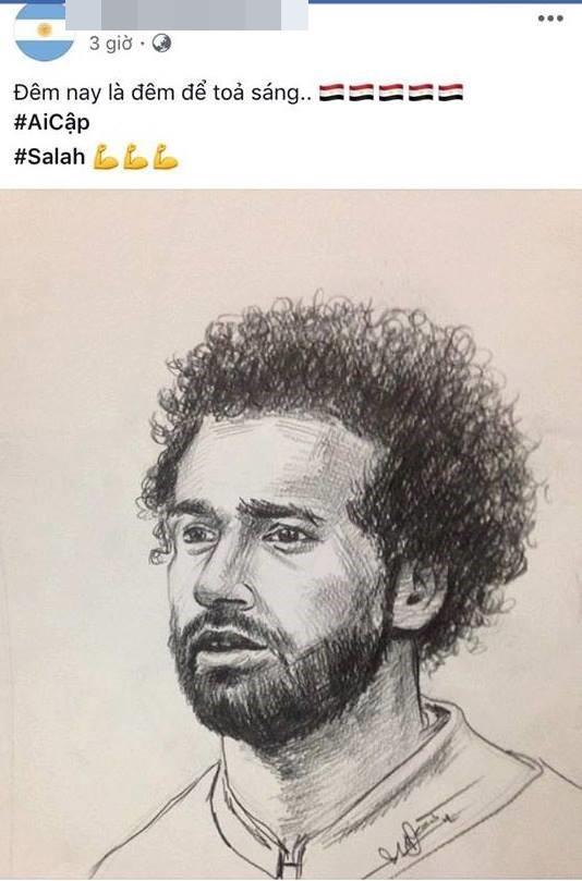Chàng trai vẽ cầu thủ nào là ĐT nước ấy hòa hoặc thua: Chiều nay em đăng ảnh Cris Ronaldo! - Ảnh 6.