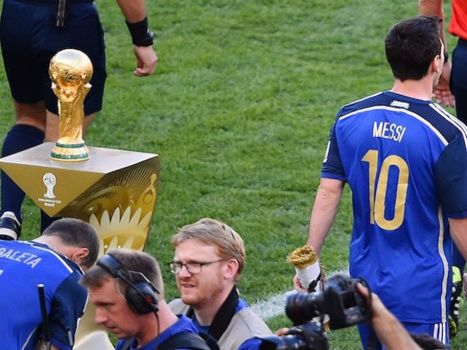 """Bất ngờ: Messi sẽ được trao """"cúp vàng World Cup"""" khi còn chưa kết thúc vòng bảng - Ảnh 1."""