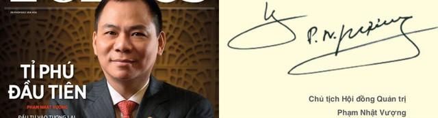 Xem chữ ký đáng giá nghìn tỷ của những doanh nhân quyền lực trên thương trường Việt - Ảnh 1.
