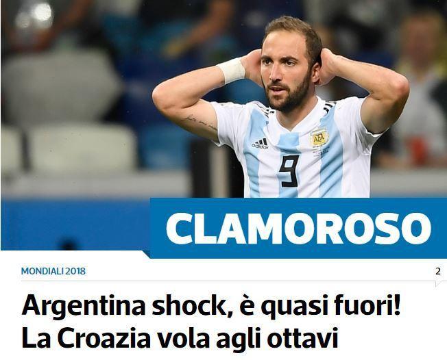 Xấu hổ, thảm họa, đau khổ, báo Argentina câm lặng vì Messi và đồng đội - Ảnh 7.