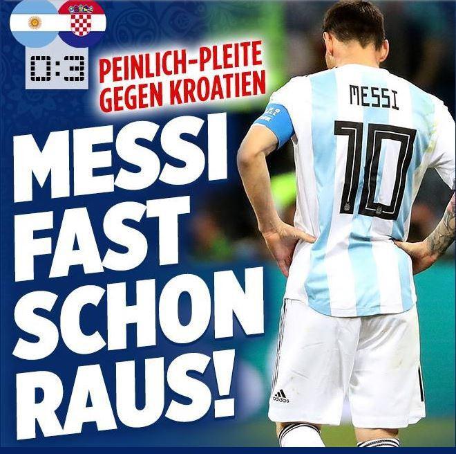 Xấu hổ, thảm họa, đau khổ, báo Argentina câm lặng vì Messi và đồng đội - Ảnh 8.