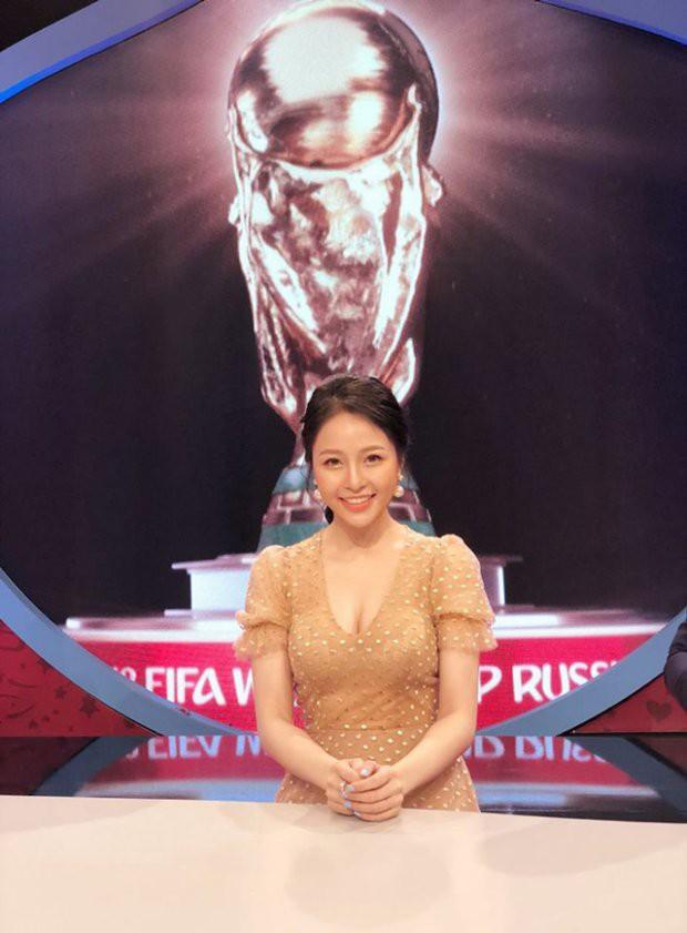 Điểm mặt 3 hotgirl nóng bỏng nhất trên sóng VTV dịp World Cup 2018 - Ảnh 7.