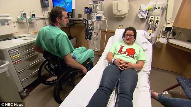 Bác sĩ phải ngồi xe lăn nhưng vẫn quyết trụ với nghề: Tôi hiểu nỗi đau của bệnh nhân - Ảnh 4.