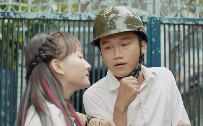 Lộ diện cô bạn gái xinh đẹp của chàng cảnh sát Mr. Cần Trô phim Ngày ấy mình đã yêu đang gây sốt mạng  - Ảnh 2.