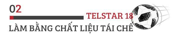 Trái bóng World Cup Telstar 18: 5 điều thú vị ai cũng nên biết! - Ảnh 2.