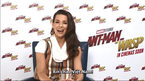 Dàn diễn viên phim Người Kiến và Chiến Binh Ong gửi lời chào đến khán giả Việt Nam - Ảnh 7.