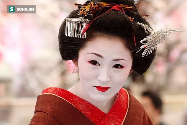 Tứ đại mỹ nhân Trung Quốc tiến cung cho hoàng đế, còn Geisha tiêu khiển cho ai? - Ảnh 2.