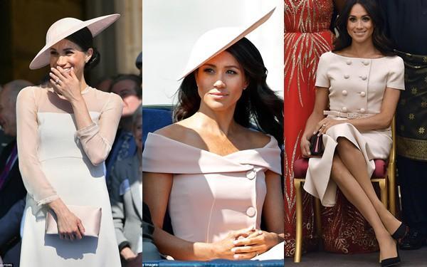Theo chuyên gia tâm lý đây là nguyên do Meghan liên tục chọn mặc màu hồng nhạt từ khi trở thành nàng dâu hoàng gia - Ảnh 2.