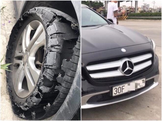 Tài xế cứu hộ đăng đàn tố bị khách đi Mercedes bùng 2,3 triệu đồng: Thay lốp xe xong là chạy mất hút, gọi điện thì khất lần - Ảnh 1.
