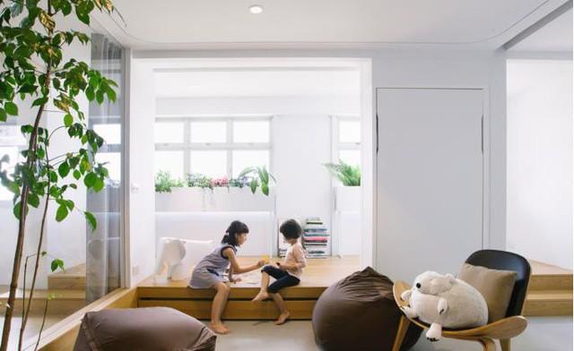Học một vàih kiến trúc không gian siêu tiện nghi cho gia đình có con nhỏ - Ảnh 7.