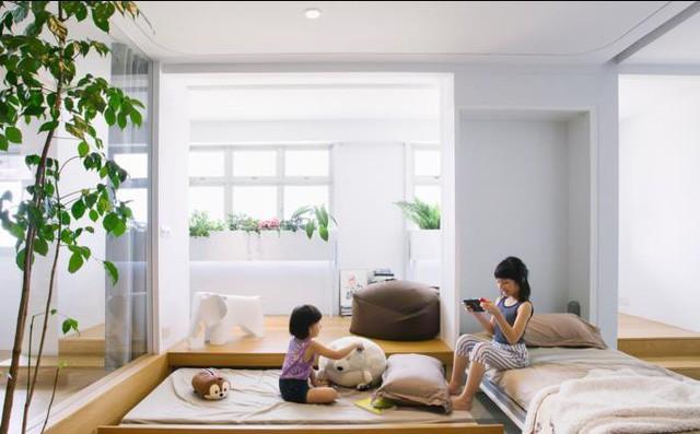 Học một vàih kiến trúc không gian siêu tiện nghi cho gia đình có con nhỏ - Ảnh 8.