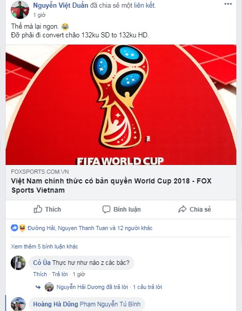 Rộ tin đồn đại gia BĐS góp tiền có VTV mua bản quyền World Cup 2018 - Ảnh 1.
