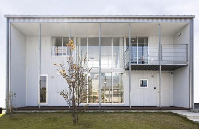 Ngôi nhà mang phong cách tối giản, hiện đại - Ảnh 1.