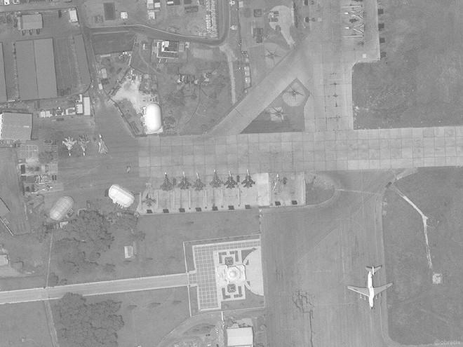 Tiêm kích đánh chặn gia bảo KQ Nga tăng đột biến ở Syria: Răn đe hay nghênh chiến Mỹ? - Ảnh 1.
