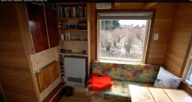 Chán cảnh thuê nhà đắt đỏ, cặp vợ chồng tự xây căn nhà nhỏ xíu nhưng đầy đủ tiện nghi giữa cánh đồng - Ảnh 4.
