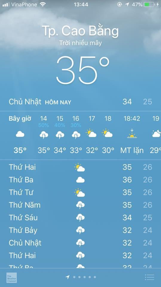Dân mạng cả nước chia sẻ bảng nhiệt độ kinh hoàng, mách nhau cách sống sót qua chuỗi ngày 40 độ - Ảnh 6.