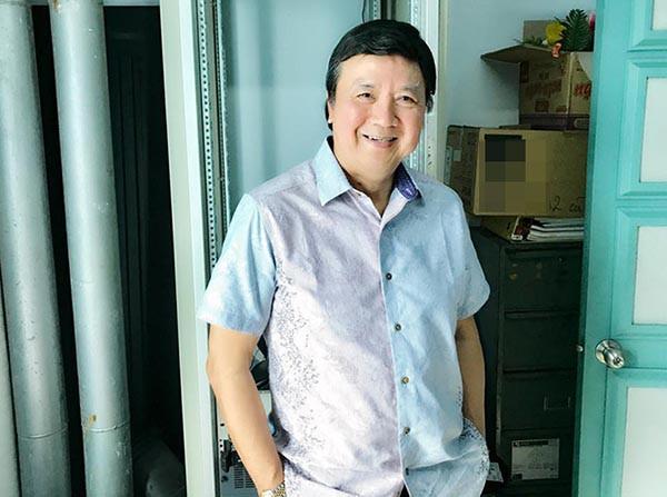 Nghệ sỹ Bảo Quốc sụt 10kg sau cơn bạo bệnh - Ảnh 1.