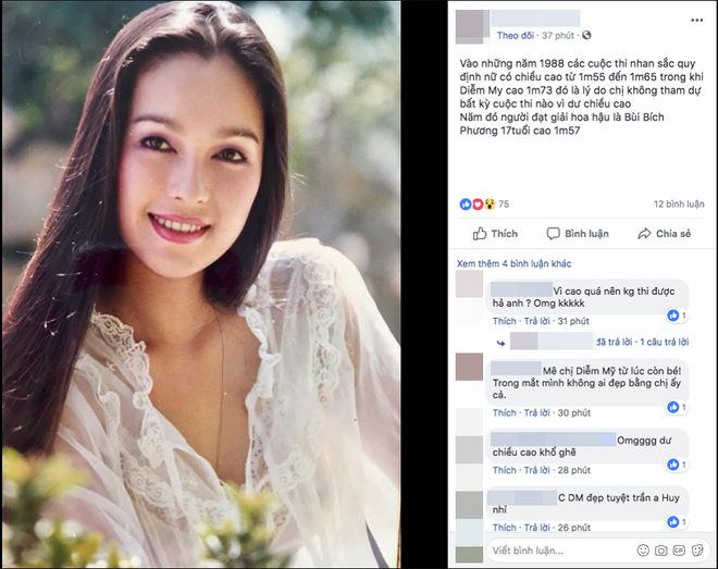 Sự thật chuyện Diễm My nhan sắc lộng lẫy nhưng không được thi Hoa hậu Việt Nam vì quá cao - Ảnh 1.