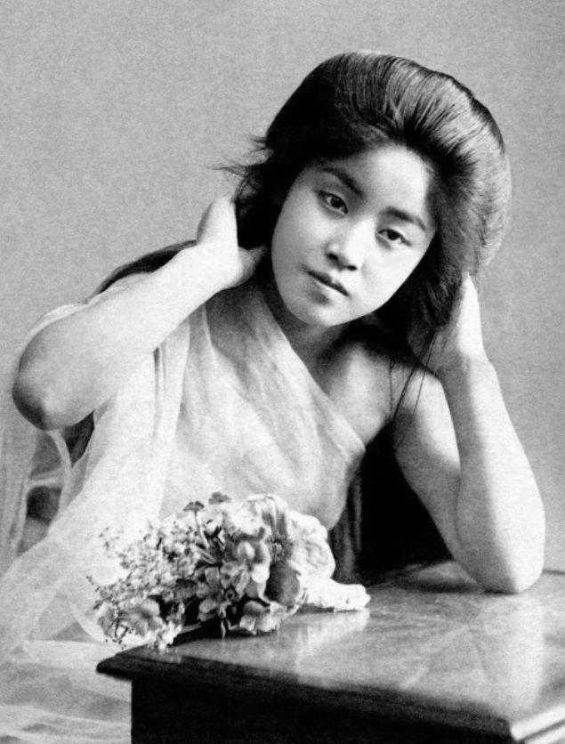 15 bức ảnh mặt mộc không son phấn của các nàng geisha thế kỷ 19 đẹp đến ngỡ ngàng làm bạn không thể rời mắt - Ảnh 16.