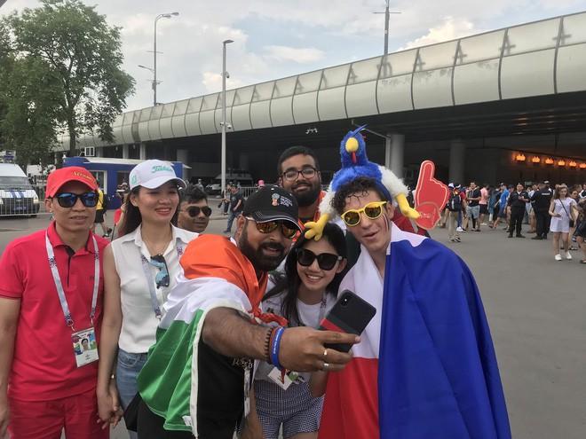 Siêu mẫu Thu Hằng, Á hậu Thanh Tú sang Nga xem chung kết World Cup 2018 - Ảnh 2.