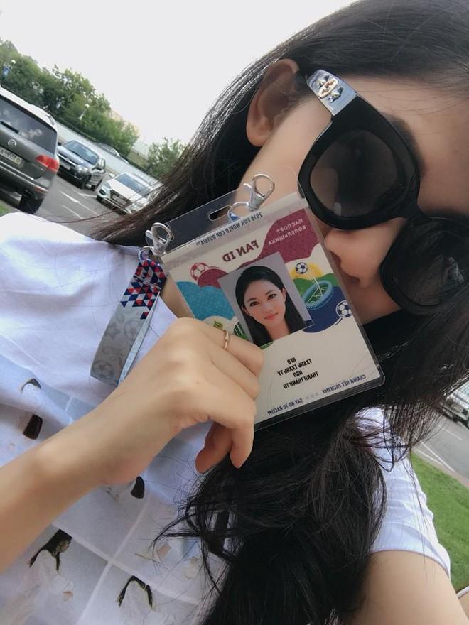 Siêu mẫu Thu Hằng, Á hậu Thanh Tú sang Nga xem chung kết World Cup 2018 - Ảnh 5.