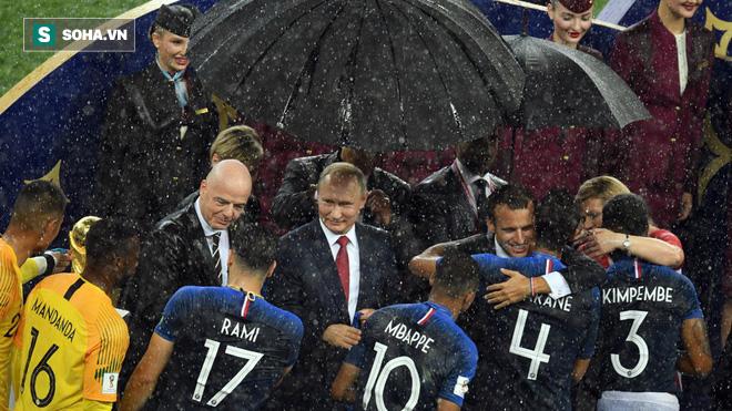 Ông Trump chúc mừng ông Putin và nước Nga với World Cup tuyệt vời - Ảnh 1.