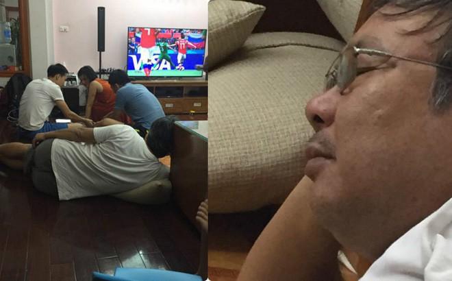 Bị vợ đuổi khỏi nhà vì gọi hàng xóm đến xem World Cup, ông bố vác tivi ra sân tiếp tục cuộc vui - Ảnh 5.