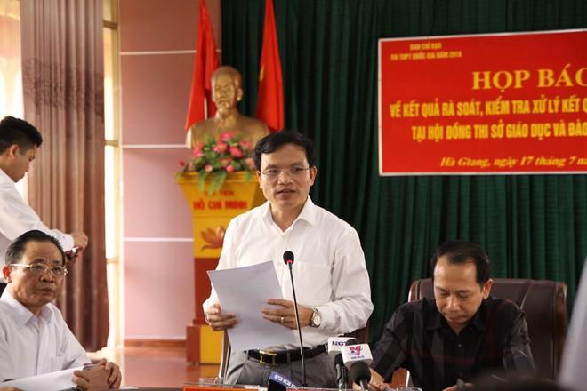 Có thí sinh ở Hà Giang được sửa điểm thi tăng những 29,95 điểm so với điểm thật - Ảnh 2.