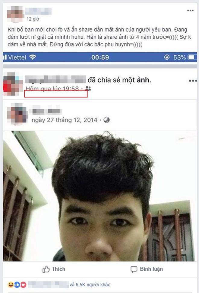 Cách bố bảo vệ gái rượu thời Facebook: Share ảnh bạn trai của con từ 4 năm trước nhưng không nói gì để dằn mặt - Ảnh 1.