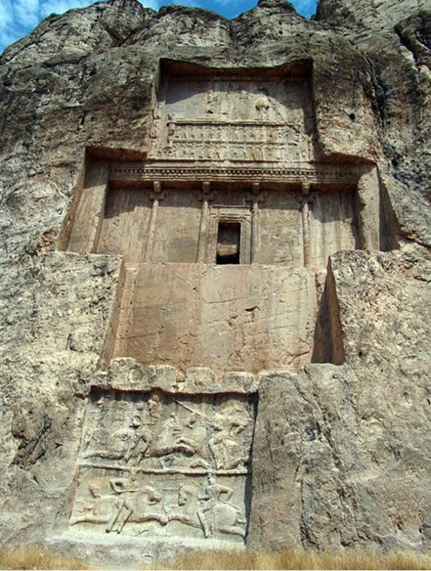 Lăng mộ hùng vĩ của những vị vua Ba Tư quyền lực nhất: Xây trên cả quả núi - Ảnh 3.
