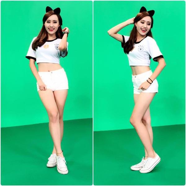 Vũ công xinh đẹp, nhảy sexy được chọn làm MC thời tiết VTV - Ảnh 9.